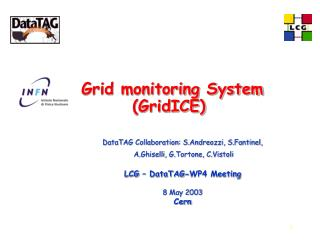 Grid monitoring System (GridICE)
