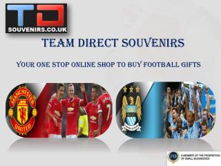 Buying football gifts online