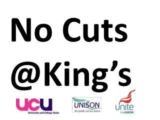 No Cuts @King's