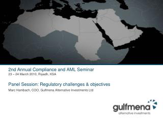 Regulatory challenges – The driving issues