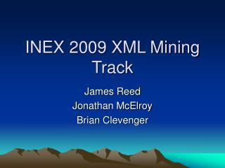 INEX 2009 XML Mining Track