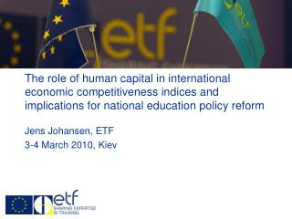 Jens Johansen, ETF 3-4 March 2010, Kiev