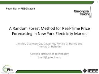 A Random Forest Method for Real-Time Price Forecasting in New York Electricity Market