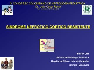 SINDROME NEFROTICO CORTICO RESISTENTE