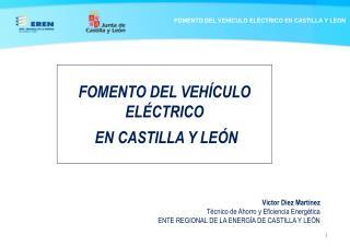 FOMENTO DEL VEHÍCULO ELÉCTRICO  EN CASTILLA Y LEÓN