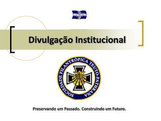 Divulgação Institucional