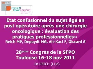 Dr REICH (Lille)