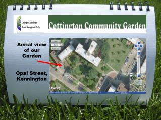Aerial view of our  Garden Opal Street, Kennington