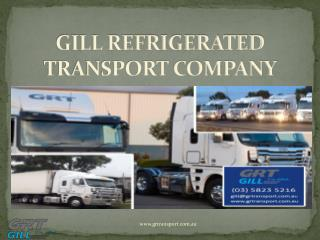 Refrigerated Transport Melbourne using If Its Chilled Servic