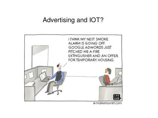 Advertising and IOT?
