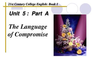 Unit  5 :  Part  A