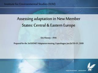 Institute for Environmental Studies (IVM)