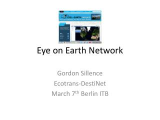 Eye on Earth Network