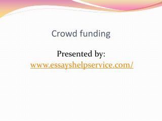 Crow Funding
