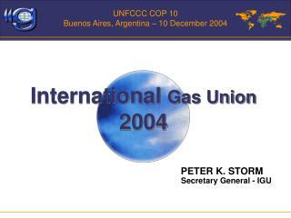 UNFCCC COP 10 Buenos Aires, Argentina – 10 December 2004