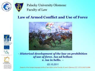 Palacky University Olomouc Faculty of Law