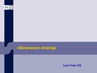 eKommune strategi