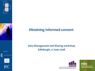 Obtaining informed consent