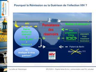Pourquoi la Rémission ou la Guérison de l'infection VIH ?
