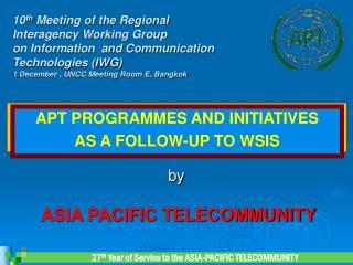 ASIA PACIFIC TELECOMMUNITY