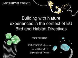 Building with Nature experiences in the context of EU Bird and Habitat Directives