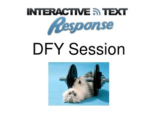 DFY Session