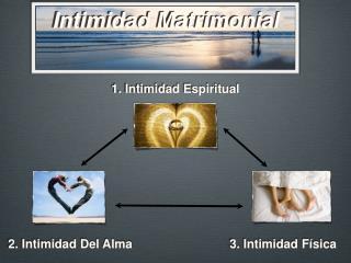 Intimidad Matrimonial