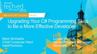Upgrading Your C Programming Skills to Be a More Effective Developer