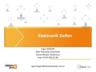 Elektronik Defter