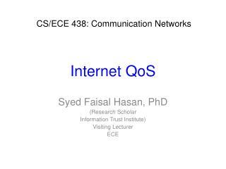 Internet  QoS
