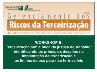 1. Compreendendo a terceirização lícita e seus efeitos jurídicos e econômicos.