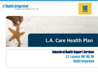 L.A. Care Health Plan