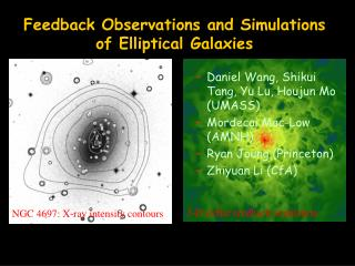 Feedback  Observations and Simulations of Elliptical Galaxies