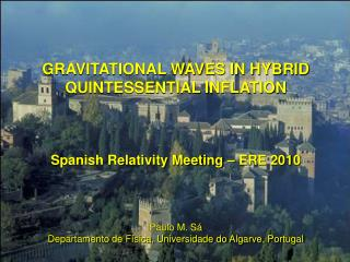 GRAVITATIONAL WAVES IN HYBRID QUINTESSENTIAL INFLATION