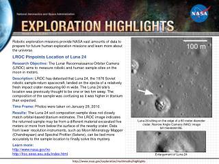 Enlargement of Luna 24