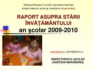 Ministerul Educaţiei, Cercetării, Tineretului şi Sportului