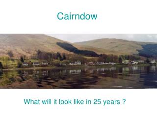 What will it look like in 25 years ?