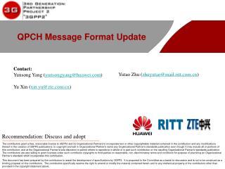 QPCH Message Format Update
