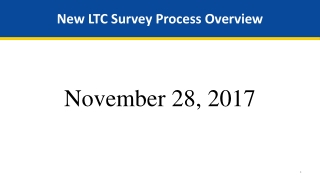 LTC POLICY AND  PROCEDURE REVIEW