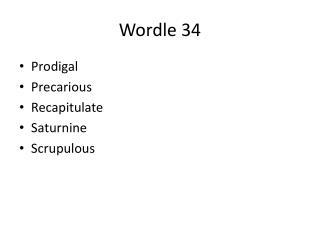 Wordle 34