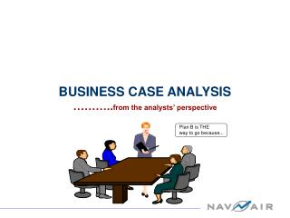 BUSINESS CASE ANALYSIS ……….. from the analysts' perspective
