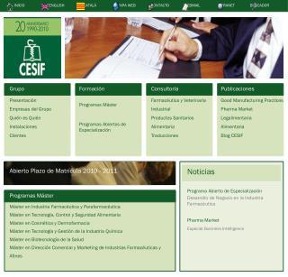 Grupo Presentación Empresas del Grupo Quién es Quién Instalaciones Clientes