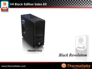 V4 Black Edition Sales Kit