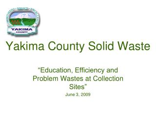 Yakima County Solid Waste