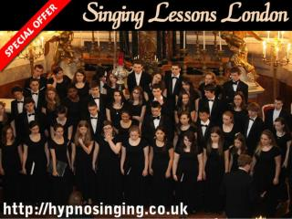 Singing Lessons London