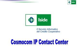 Cosmocom IP Contact Center