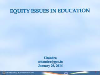 Chandra cchandra@gov January 29, 2014