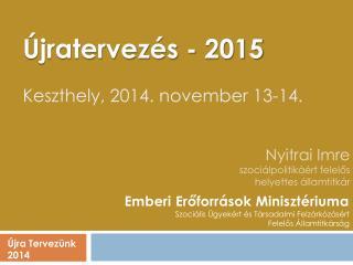 Nyitrai Imre szociálpolitikáért felelős helyettes államtitkár