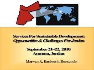 Marwan A. Kardoosh, Economist