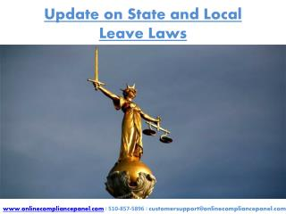 Update on State and Local Leave Laws